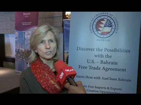 CNN Arabic Interviews AmCham Bahrain Sustainability Panel