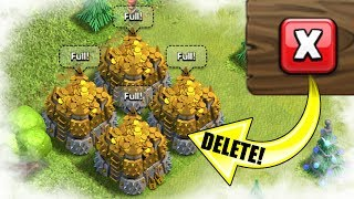WE NEED TO DELETE LOOT!.............................Clash Of Clans