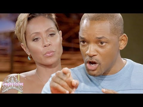 Will Smith puts his wife Jada in her place MUST SEE
