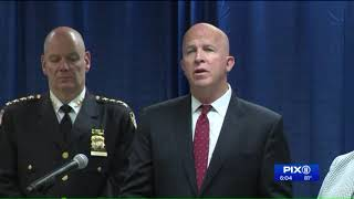 NYPD commissioner says we all need to join war on gangs in wake of `Junior` killing
