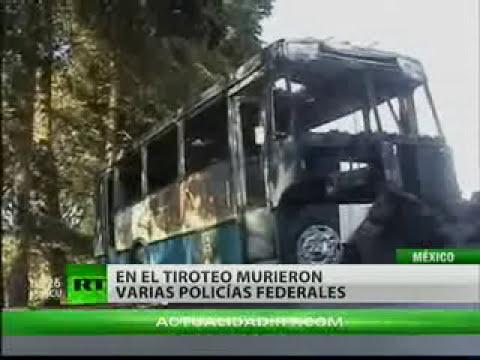 Diez policías muertos en una emboscada criminal en México