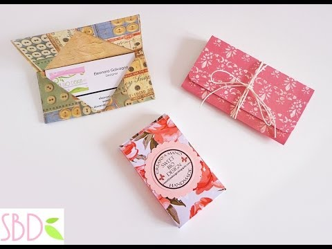 Scrap 3 Porta Carte o Biglietti da visita – 3 Cards & Business Card holders