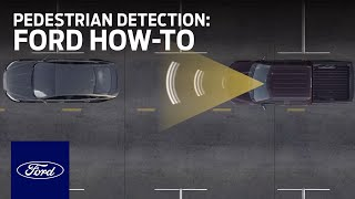 Pre-Collision Assist with Pedestrian Detection   Ford How-To   Ford