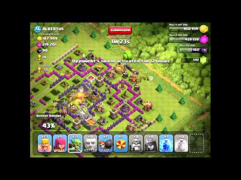 Clash Of Clans: 2 very high loot raids