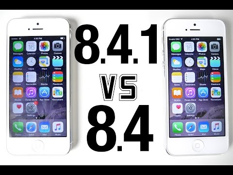 iOS 8.4.1 VS iOS 8.4 - Performance & WiFi Speed Test Comparison
