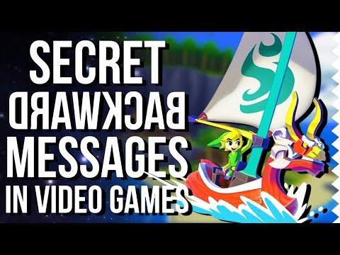 Secret Backward Messages In Video Games! - Easter Egg Hunter