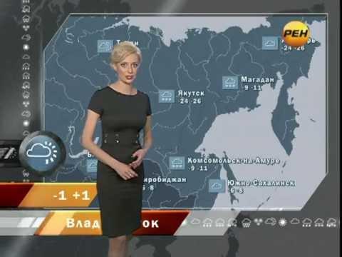 "Алёна Дублюк - ""Новости 24. Погода"" (03.03.12)"