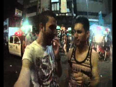 The utterly crazy Khao San Road, Bangkok