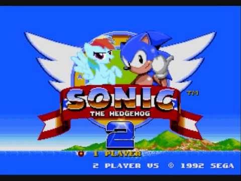Sonic Hedgehog Pony Sonic The Hedgehog Rainbow