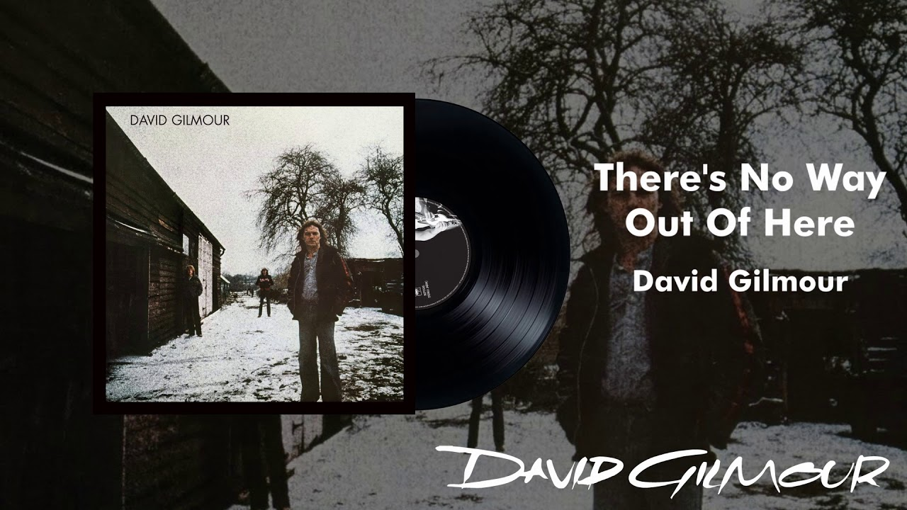 """David Gilmour - """"There's No Way Out Of Here""""の試聴音源を公開 デビューソロアルバム「David Gilmour」(1978年発売)収録曲 thm Music info Clip"""