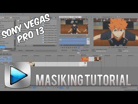 Masking tutorial - Sony Vegas Pro 13 Tutorial - AMV