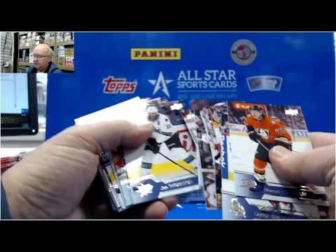 2016 2017 Upper Deck Hockey Series 2 Break for TJ   Patrick Laine Young Guns RC! #1