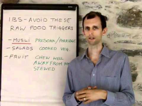 IBS Diet - Raw food triggers
