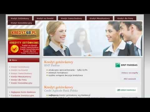 Kredyt Przez Internet - Pożyczka Przez Internet  Www.kredyt48.pl