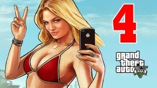 Let´s Play Grand Theft Auto 5 / GTA V Gameplay Deutsch - Part 4 - Chop macht es Doggystyle !