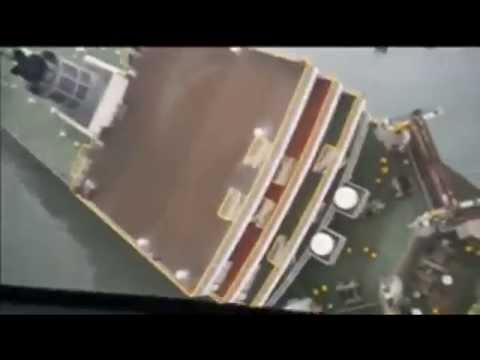 Safety Video Ferry Sinking in South Korea
