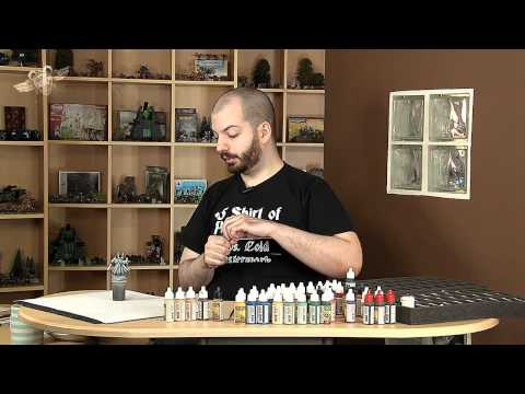 Painting a Black Legion Terminator Lord... part 1 (Warhammer 40K Painting Tutorial)