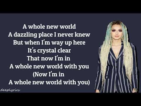"""ZAYN, Zhavia Ward - A Whole New World (Lyrics) (End Title) (From """"Aladdin"""")"""