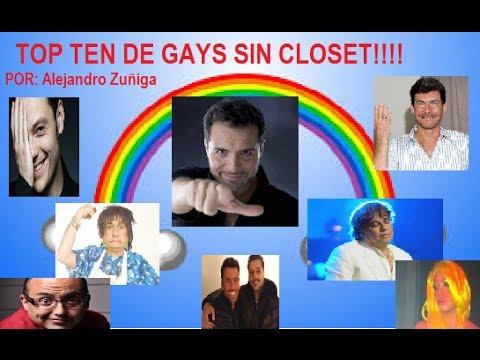 LOS 10 GAYS DECLARADOS EN LA FARANDULA!! ¿Honestidad? ¿Publicidad?