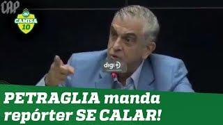 """""""CALE-SE!"""" """"Dono"""" do Athletico-PR PERDE A LINHA com repórter e gera REVOLTA!"""