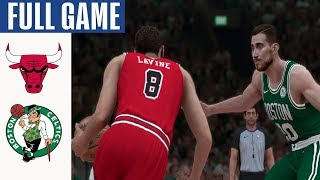 Bulls vs Celtics Full Game Highlights! January 13, 2020 NBA Season | NBA 2K20