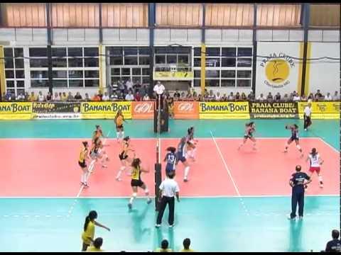 Praia vence São Caetano e se classifica em 7° na Superliga Feminina da Volei
