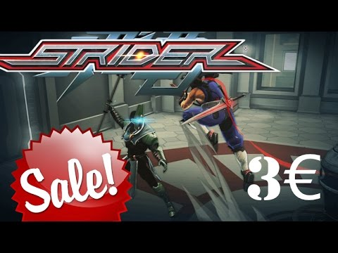 Strider: a 100% accurate ninja simulator, now on sale for 3€