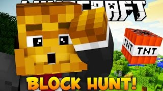 "Minecraft Block Hunt ""HILARIOUS GETAWAY"""