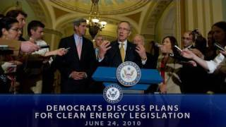 Democrats Discuss Plans for Clean Energy Legislation