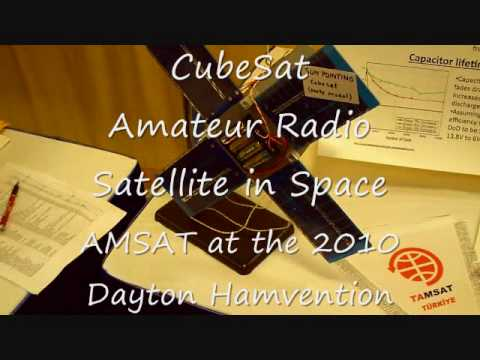 CubeSat Satellite at AMSAT Dayton Hamvention 2010 Amateur Radio.wmv
