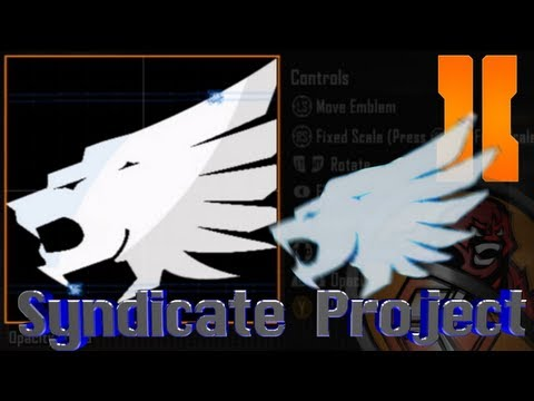 Black Ops 2 - The Syndicate Project Logo Emblem Tutorial