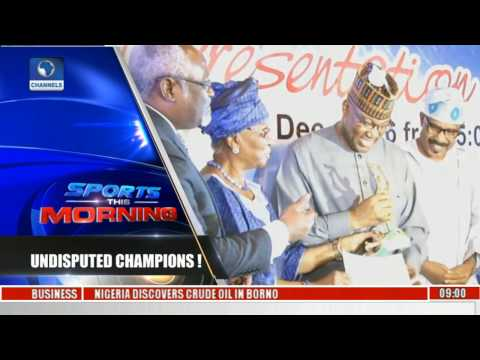 Channelstv Tagged 'Undisputed Champion' By Sports This Morning Presenters