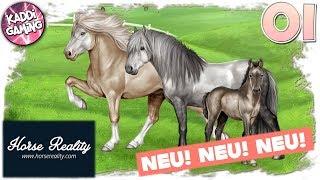 Horse Reality: Neues, kostenloses Browser-Pferdespiel #01 | LET'S PLAY 🎮 | Kaddi Gaming 🌺