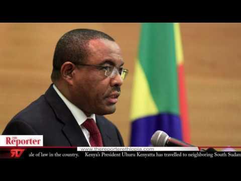 The reporter News Ethiopia TV English News Sept 2016