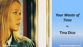 Watch Tina Dico Your Waste Of Time video