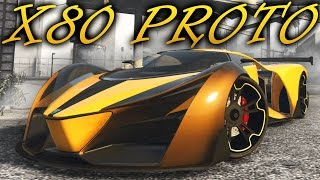 LIVE GTA V On-line - Nova DLC Finance and Felony (Parte 2) Tunando Grotti X80 PROTO