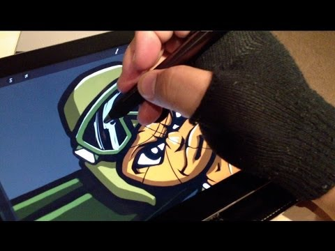 Jot Touch Pixelpoint Review+Procreate (Pressure Sensitive Stylus)