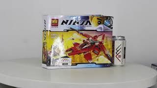 Mở hộp Bela 10219 Lego Ninjago 70721 Kai Fighter giá sốc rẻ nhất