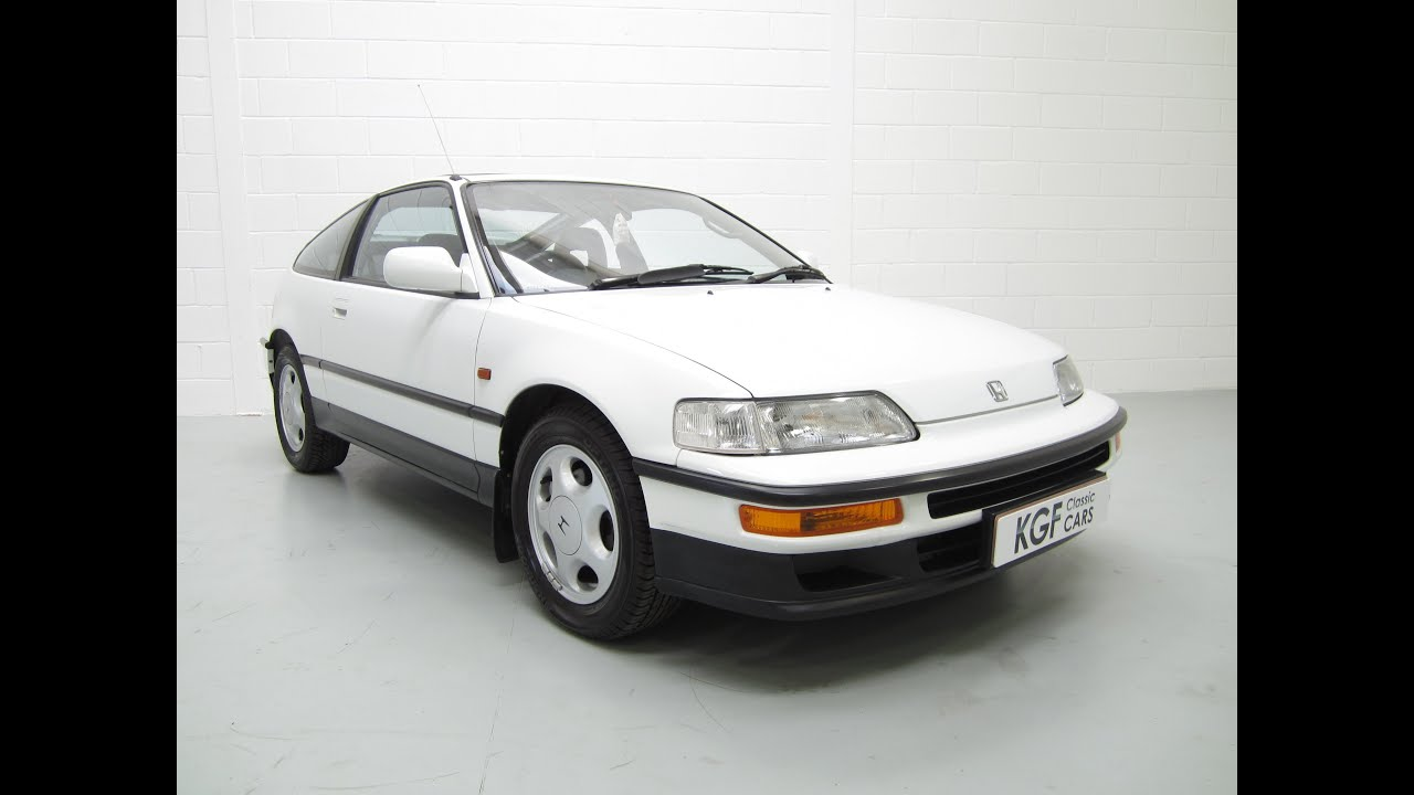 amazing honda crx 1 6 vtec full honda history two owners. Black Bedroom Furniture Sets. Home Design Ideas