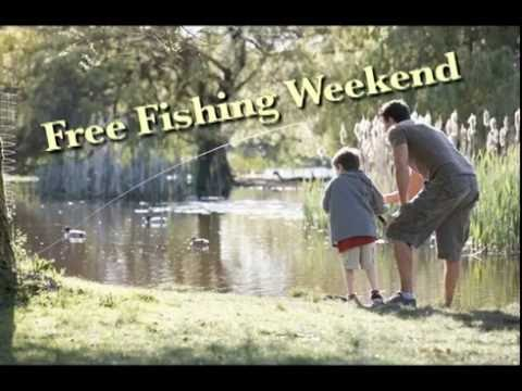 Rep. Tom Barrett reminds you about Free Fishing Weekend on June 11, and 12.