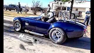 Supercharged Coyote vs Nitrous A/C Cobra in Mexico