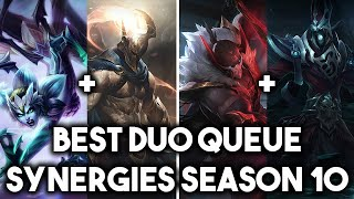 10 Best Duo Stomp Synergies For Season 10 | Duo Queue Combos To 2v5 & Hard Carry ~ League of Legends