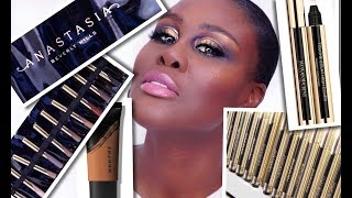 TRYING NEW BEAUTY PRODUCTS: ABH, MORPHE & YVES SAINT LAURENT | Fumi Desalu-Vold