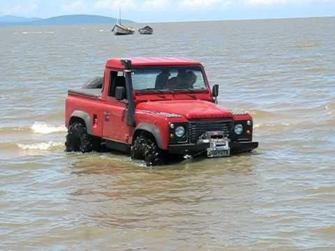 Land Rover Defender 90 Pick Up Youtube