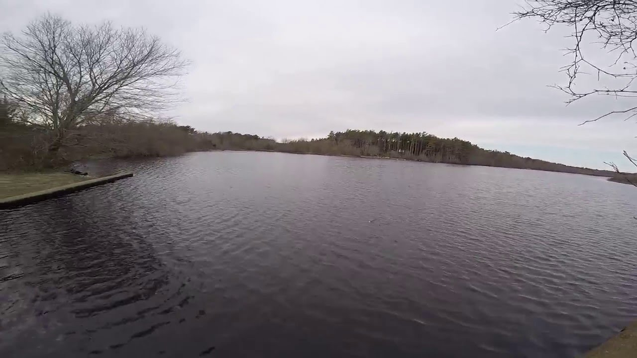 Winter Bass Fishing Long Island  NY 02 21 16   Long Island Freshwater Fishing