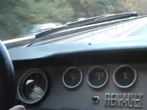 Dacia 1100   140kmh  Dacia 1100 Interior