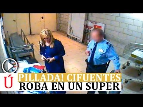 Un vídeo hace que Cristina Cifuentes dimita: pillada en un supermercado