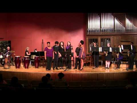 "Columbia College, SC, Jazz Combos Ensemble -  ""Rescue Me"" and photos"