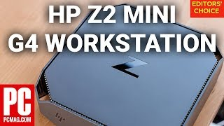 HP Z2 Mini G4 Workstation Review