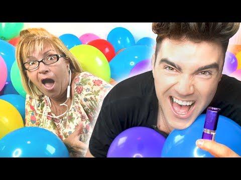 BALONOWY PRANK NA MAMĘ! (1000+ Balonów)